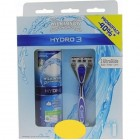 Wilkinson Hydro 3 Scheersysteem incl 1 Mesje + Hydro Sensitive Scheerschuim 250ml