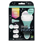 Wilkinson Sword Intuition Sensitive Care Scheersysteem incl 3 mesjes