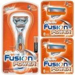 Gillette Combi Fusion Power Systeem + 16 mesjes