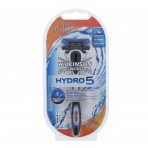 Wilkinson Hydro 5 systeem incl 1 mesje Special Black Chrome edition