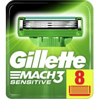 Gillette Mach3 Sensitive Mesjes 8 Stuks