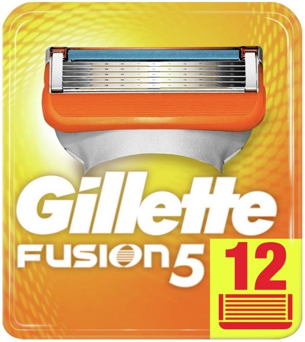 Gillette Fusion 5 Manual Scheermesjes 12 stuks