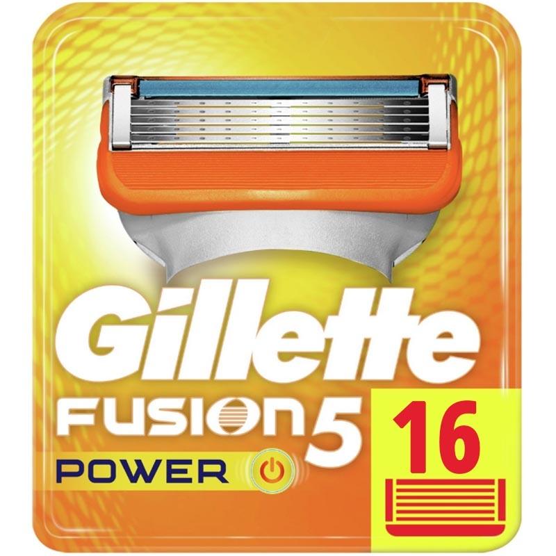 Dagaanbieding - Gillette Fusion5 Power Scheermesjes 16 Stuks dagelijkse aanbiedingen