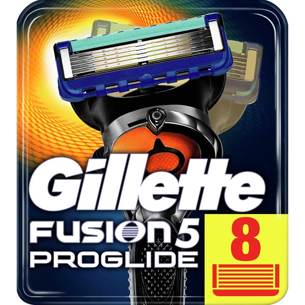 Dagaanbieding - Gillette Fusion5 ProGlide 8 Mesjes dagelijkse aanbiedingen