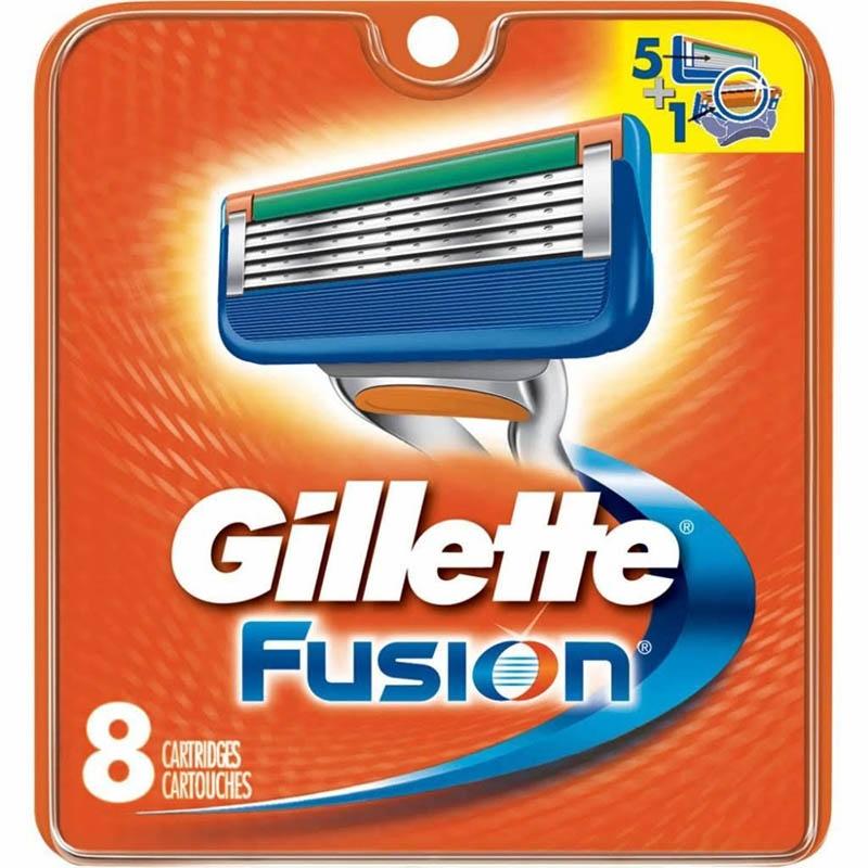 Dagaanbieding - Gillette Fusion Mesjes 8 Stuks dagelijkse koopjes