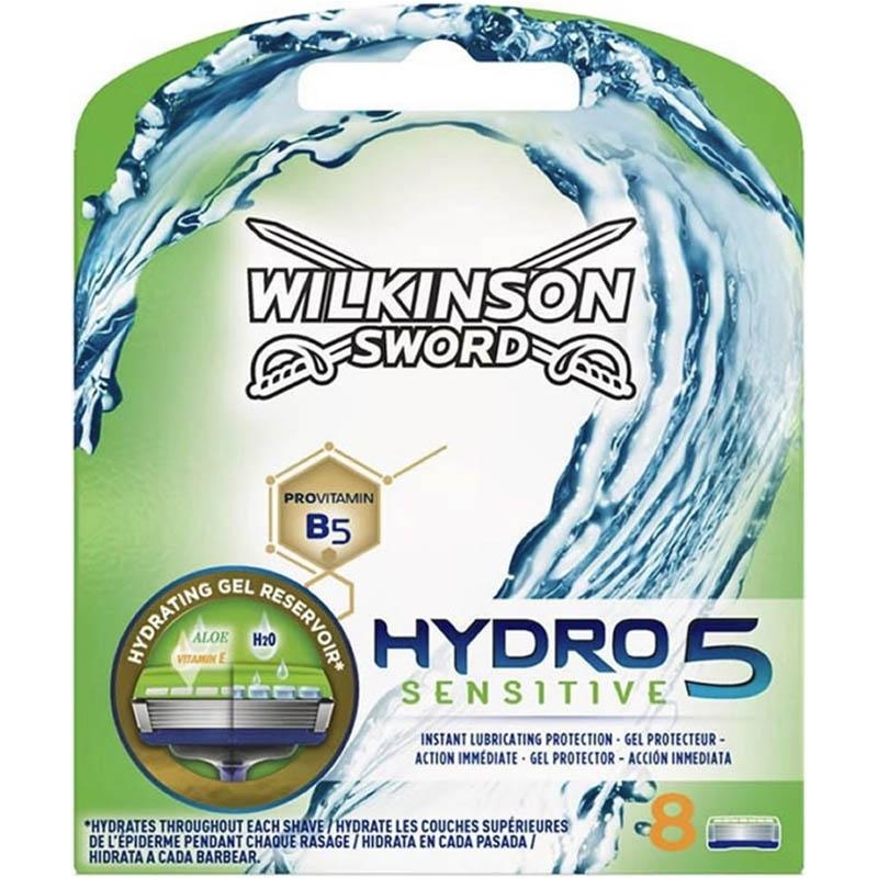 Dagaanbieding - Wilkinson Hydro5 Sensitive 8 Scheermesjes dagelijkse koopjes