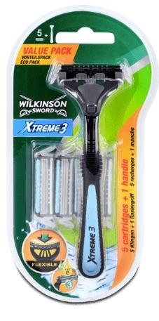 Wilkinson Sword Xtreme3 Scheersysteem incl 5 mesjes